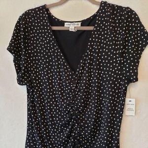 Larry Levine top blouse